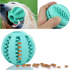 Rubber Ball Chew Treat Cleaning Pet Dog Puppy Cat Toy Training Dental Teething*