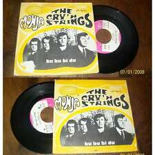 The Cry'n Strings – Monja Rare French PS 7' Garage Beat 1967'