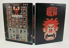 STEELBOOK Wreck-It Ralph Region All Lightly Used