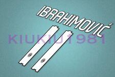 AC Milan Ibrahimovic #11 2010-2011 Homekit Nameset Printing