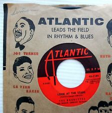 BOBBETTES rock-n-roll R&B 45 MR LEE / LOOK AT THE STARS vg WITH Co. sleeve C2572