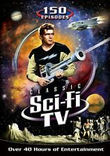 CLASSIC SCI FI TV 150 EPISODES New Sealed 12 DVD Set