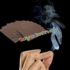 2pcs Close-Up Magic Props Smoke from Finger Tips Magic Trick Surprise Mystical
