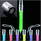 NEW LED Water Faucet Stream Light Changing Glow Shower Stream Tap + Faucet HE