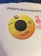 "The Replacements - Can't Hardly Wait / Portland PROMO 45 rpm 7"" vinyl PRO0001 EX"