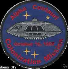 Lost In Space TV Series Jupiter 2 II Colonization Mission Patch Alpha Centauri