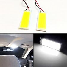 2pcs Xenon Super White 36 COB LED Dome Map Light Bulb Car Interior Panel Lamp