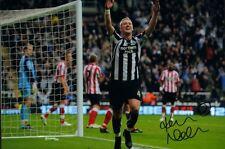 Signed Kevin Nolan Newcastle United v Sunderland Autograph Photo 5-1 Tyne Wear