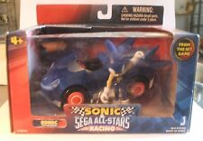 Sonic The Hedgehog Action Figure Toy Sega All-Stars Racing Vehicle All Star Car