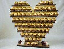 Heart Ferrero Rocher Display Stand, Pyramid Tree Holds 140