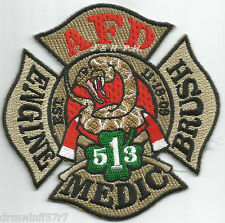 "Argyle  Station-3  Engine / Brush / Medic, TX   (4"" x 4"" size) fire patch"