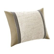 "NATORI ""BALI"" STANDARD PILLOW SHAM(S)-KHAKI BROWN/FERN GREEN/NATURAL/BLACK-$110"