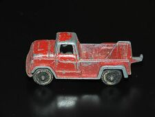 Tootsie Toy Metal Red Tow Truck Service Vehicle Vintage American Cars Utility