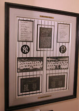 pittsburgh pirates vs new york yankees 1927 world series litho framed