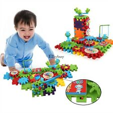 Funny Gears Educational Building Block Toys. New Deluxe Set Funny Bricks