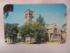 VINTAGE PHOTO POSTCARD SECOND CONGREGATIONAL CHURCH IN ROCKFORD ILLINOIS 1953
