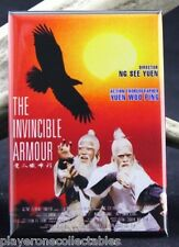 The Invincible Armor Movie Poster 2 X 3 Fridge Magnet. Kung Fu Classic John Liu