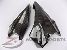 2010-2013 Z1000 Lower Bottom Belly Pan Cowling Panel Fairing 100% Carbon Fiber