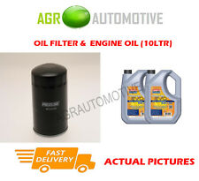 DIESEL OIL FILTER + LL 5W30 OIL FOR VAUXHALL FRONTERA 2.8 113 BHP 1995-96