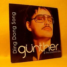 Cardsleeve Single CD Günther & The Sunshine Girls Ding Dong Song 3TR 2004 Pop