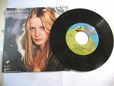 "NIGEL OLSSON"" ONLY ONE WOMAN - disco 45 giri  ROCKET Italy 1974"" PERFETTO"