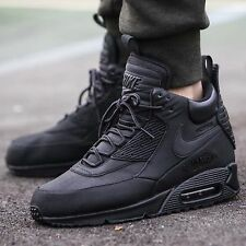 Nike Air Max 90 Sneakerboot WNTR Shoe Sz 8.5 Mens Black/Black 684714-002