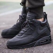 edc905cadaa Nike Air Max 90 Sneakerboot WNTR Shoe Sz 9 Mens Black Black 684714 ...