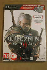 THE WITCHER 3 WILD HUNT PC DVD POLISH, ENGLISH LANGUAGE