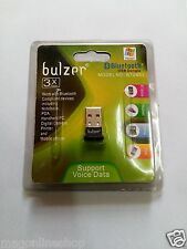 Bulzer USB Mini Bluetooth Dongle Adapter For PC,Laptop,Desktop