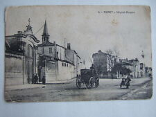 CPA NIORT (79 DEUX SEVRES) HOPITAL HOSPICE. VOITURE CALECHE ATTELAGE CHEVAL