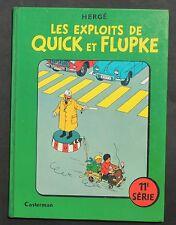Hergé. Quick et Flupke 11e série. Casterman 1969. Edition originale