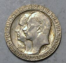 1910 GERMAN STATES - 3 MARK - PRUSSIA - UNIVERSITY BERLIN - AUNC Silver coin