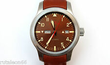 FORTIS B-42 AEROMASTER DAWN DAY/DATE automatic watch 655.10.158.3  New Old Stock
