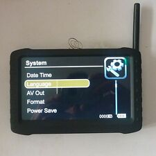 """wireless receiver 5"""" DVR 2.4G motion detect ,loop record Automation 8 channels"""