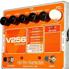 Electro-Harmonix V256 Vocoder Instrument Effects Pedal with Reflex-Tune EHX NEW