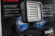 SLR/Photo/Video LED Light For Canon Digital Rebel T6 T6i t5 t5i SL1 xti 35 feet