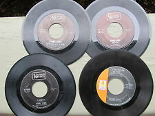BOBBY LEWIS 45 LOT: Four 45rpm singles on UNITED ARTISTS