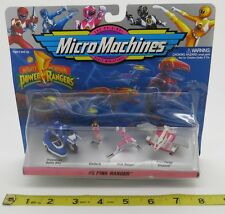 - MICRO MACHINES  - POWER RANGERS COLLECTION #5  - COLLECTION - GALOOB - NIP -