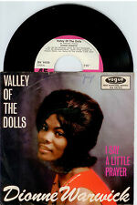 "DIONNE WARWICK - ""Valley Of The Dolls/Tal der Puppen "" 7"" Single1968 Vogue"