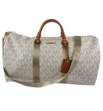 New MICHAEL KORS Signature Vanilla Extra Large  Travel Duffle Bag weekender