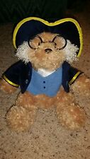 Aurora presidential George Washington teddy bear plush stuffed animal #AAA