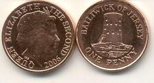 Pièce monnaie JERSEY 1 penny 2006 NEUVE NEW UNC