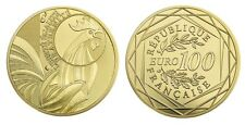 FRANCE 100 Euro Or BU 2015 Coq - Gold coin Cock