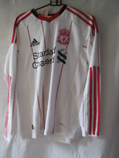 Liverpool 2009-2010 Away Third Football Shirt Size 13-14 Years J Cole  /13113
