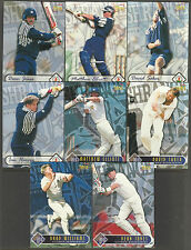 FUTERA 1996 WORLD CUP CRICKET VICTORIAN BUSHRANGERS CRICKETERS Set of 8 CARDS