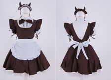 Z-09 Gr S M One Size brown teufel devil Maid Cosplay Kleid dress Kostüm costume