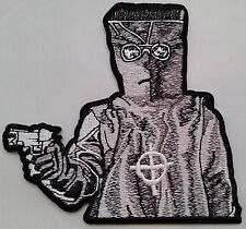 "The Zodiac Killer 4"" embroidered iron on patch NEW Free shipping"