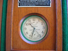 VINTAGE HAMILTON DECK SHIP CHRONOMETER ,CAL 22,ORIGINAL IN/OUT BOX,21J,