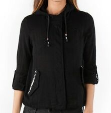 2014 NWT WOMENS ELEMENT MELODIE JACKET $70 M black sheer light weight hooded