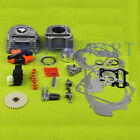 100cc Cylinder Kit Set 50mm, ignition Coil CDI FOR GY6 50cc 139QMB Scooter